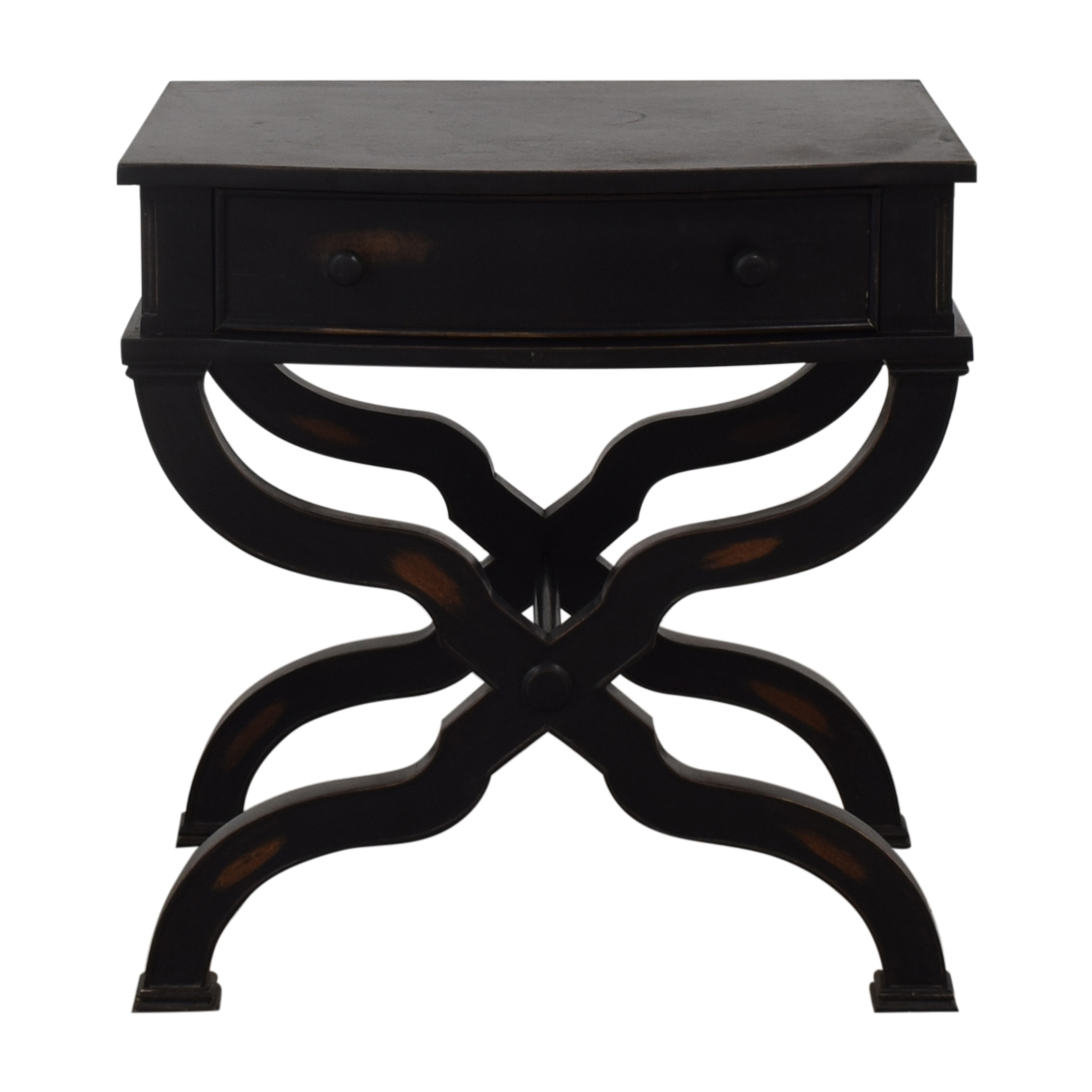 Nieman Marcus Distressed End Table Neiman Marcus