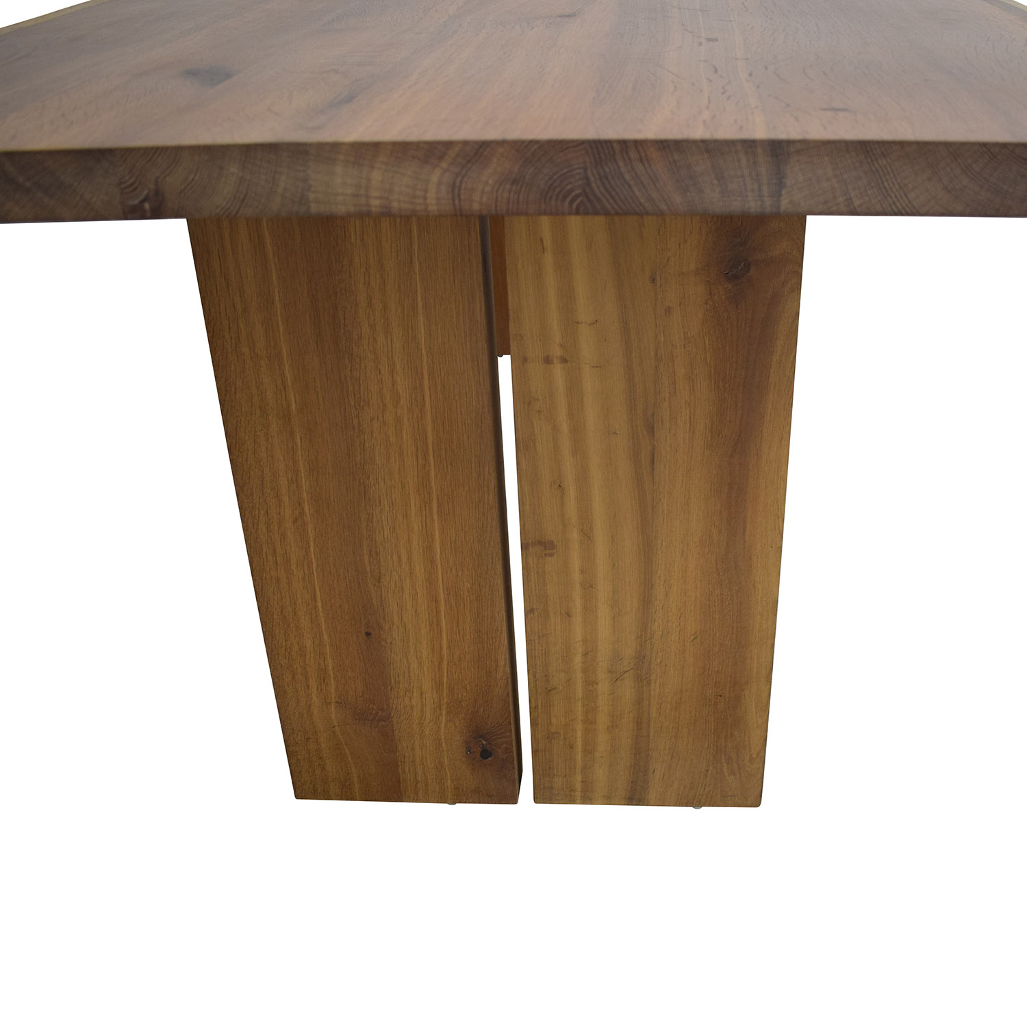 65 Off Crate Barrel Dakota Dining Table Tables