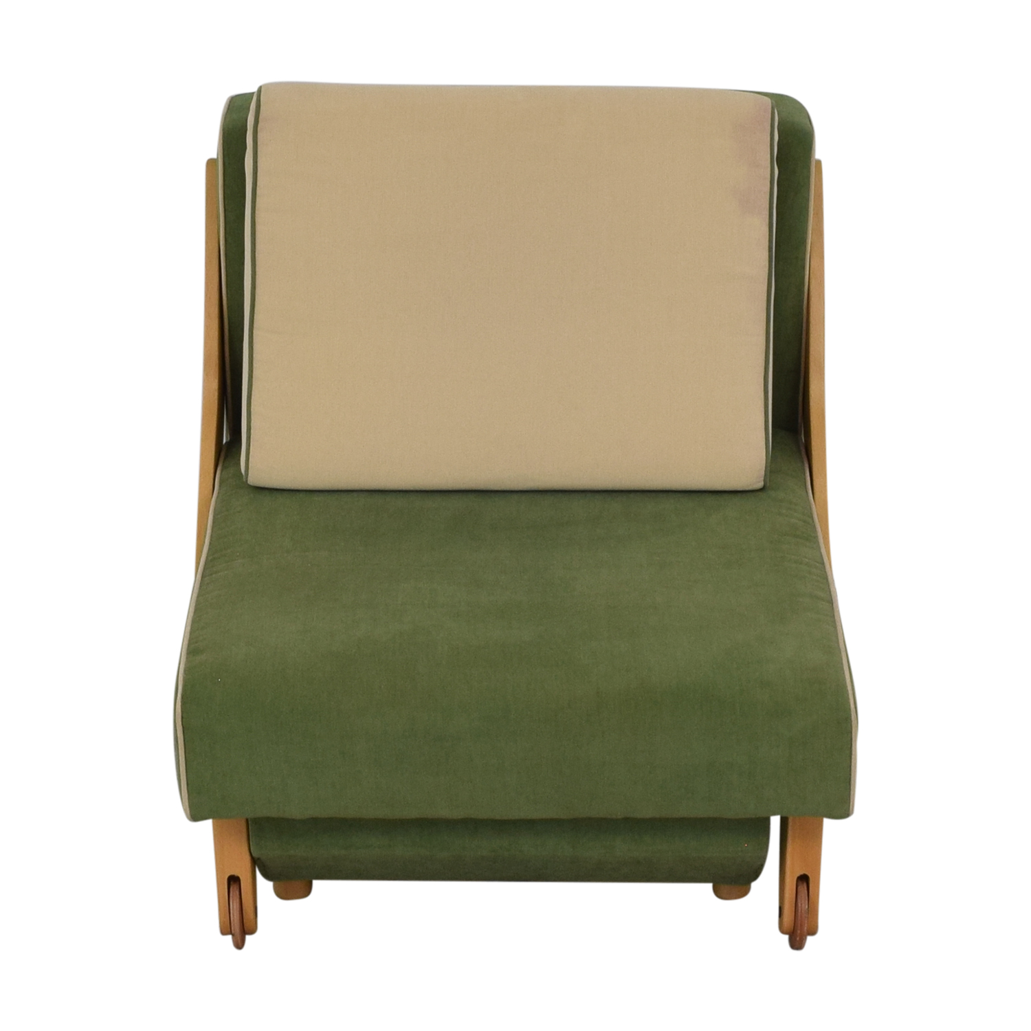 Custom Accent Chair with Storage for sale