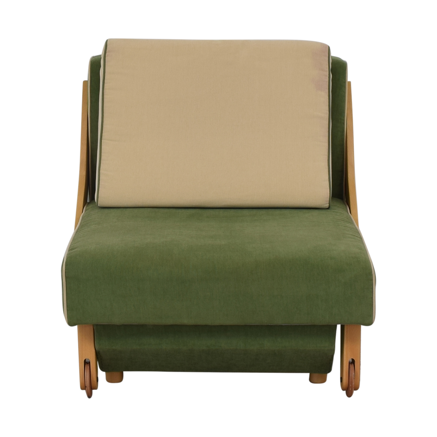 Custom Accent Chair with Storage dimensions