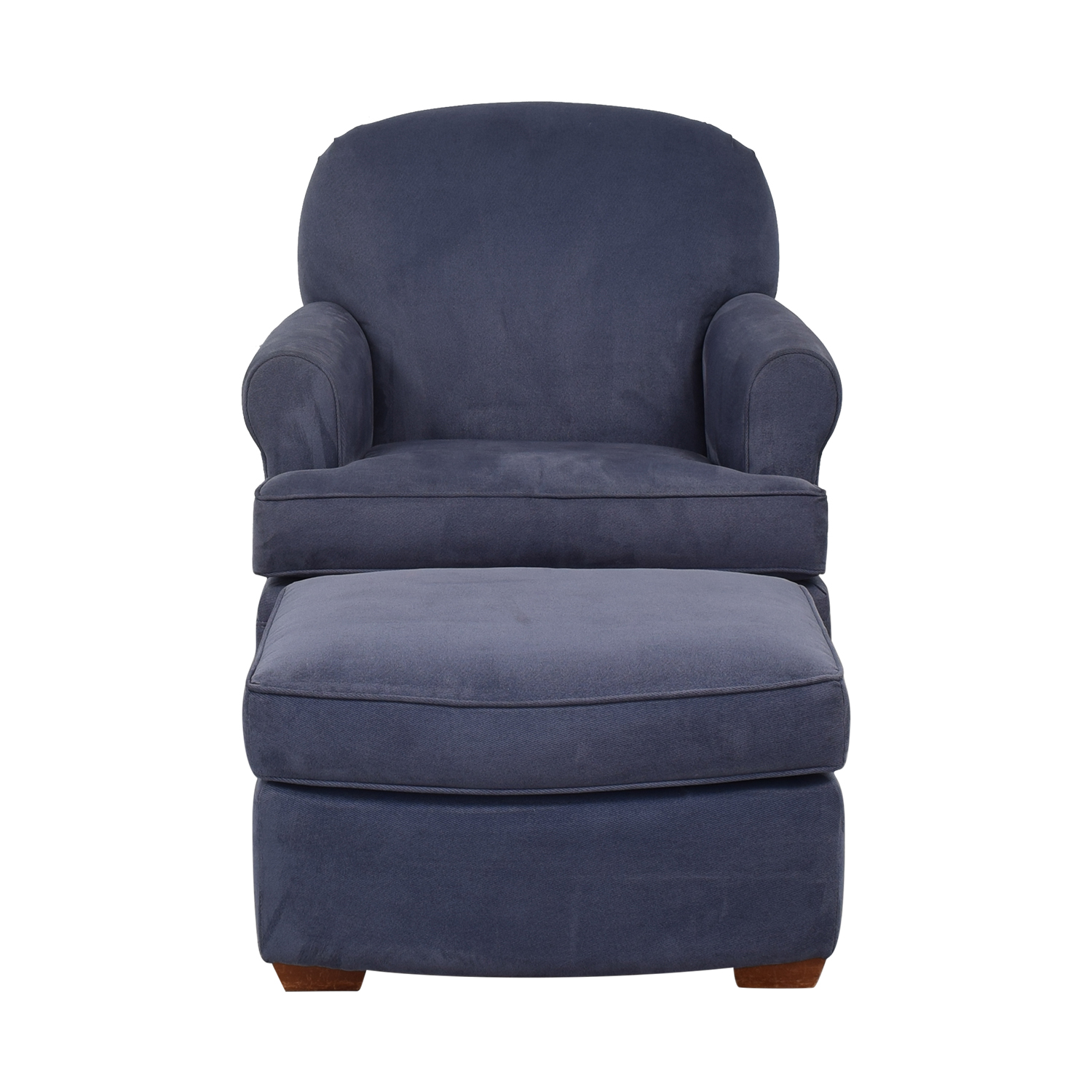 buy Land of Nod Dylan Glider and Ottoman Land of Nod Accent Chairs