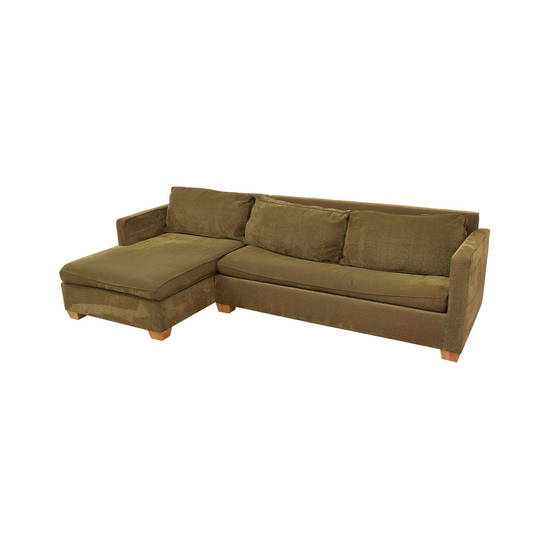 CalModa CalModa Sleeper Sofa with Chaise second hand