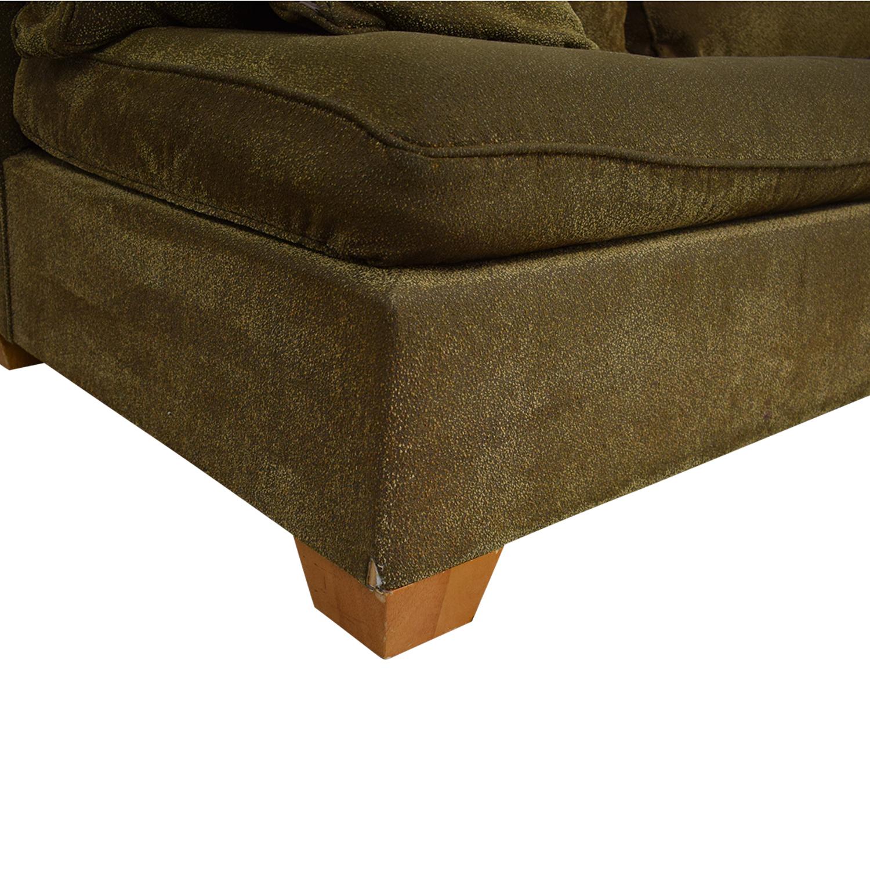 shop CalModa Sleeper Sofa with Chaise CalModa Sofa Beds