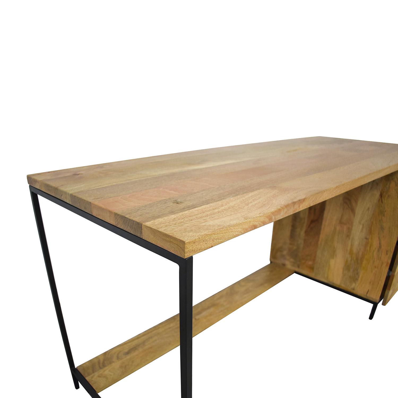 West Elm West Elm Industrial Modular Desk Home Office Desks
