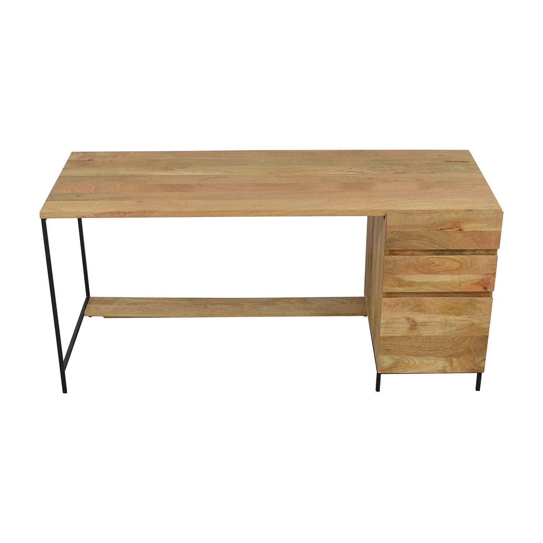 buy West Elm Industrial Modular Desk West Elm Tables