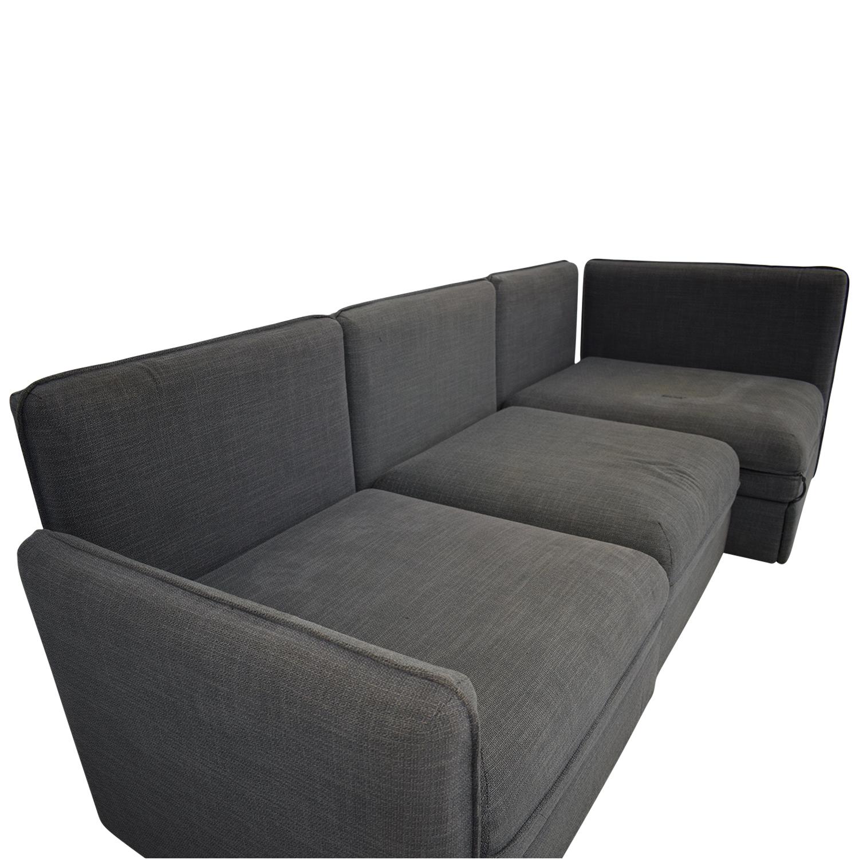 IKEA Ikea Vallentuna Sectional Sleeper Sofa Sofas
