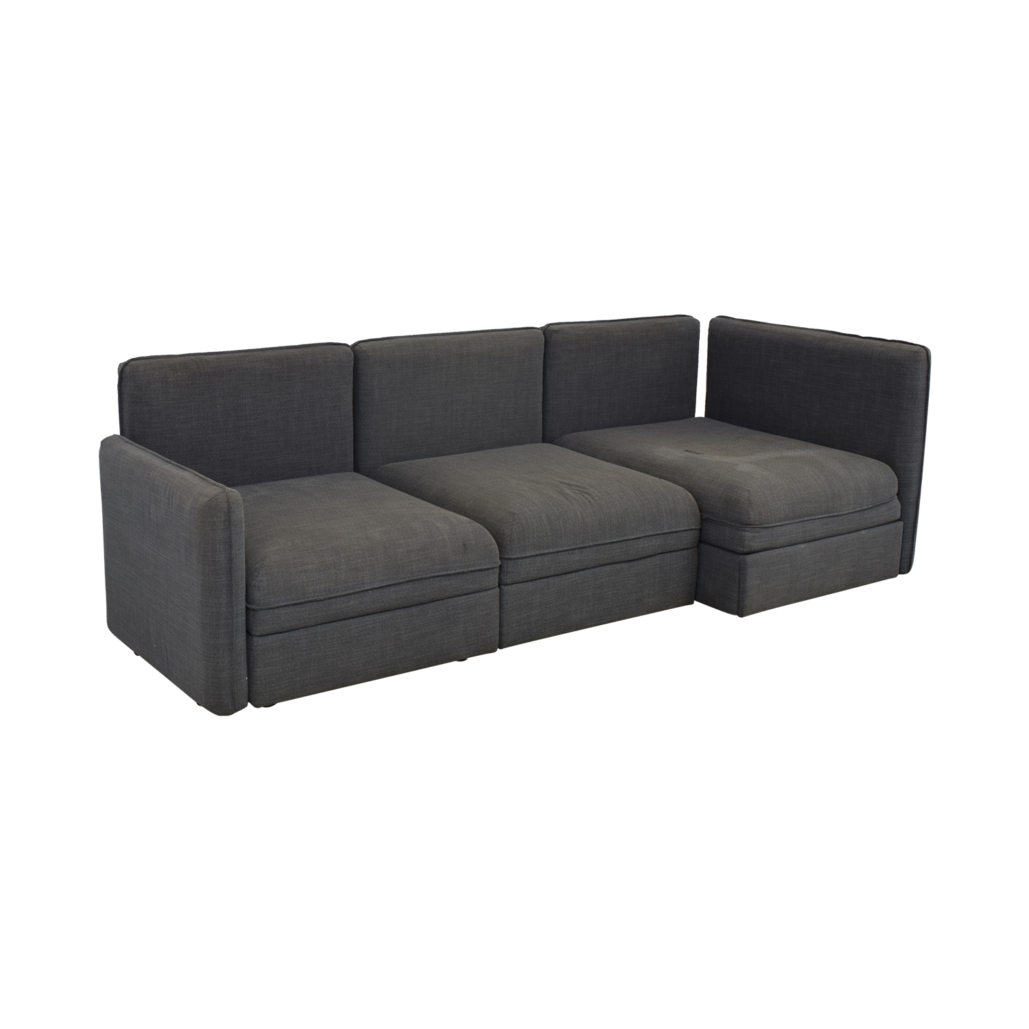 77% OFF - IKEA Ikea Vallentuna Sectional Sleeper Sofa / Sofas