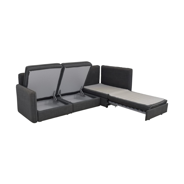 buy Ikea Vallentuna Sectional Sleeper Sofa IKEA Sofas