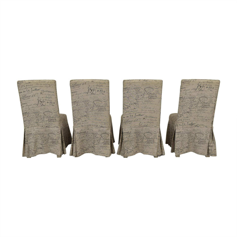 shop Ballard Designs Parsons Upholstered Dining Chairs Ballard Designs