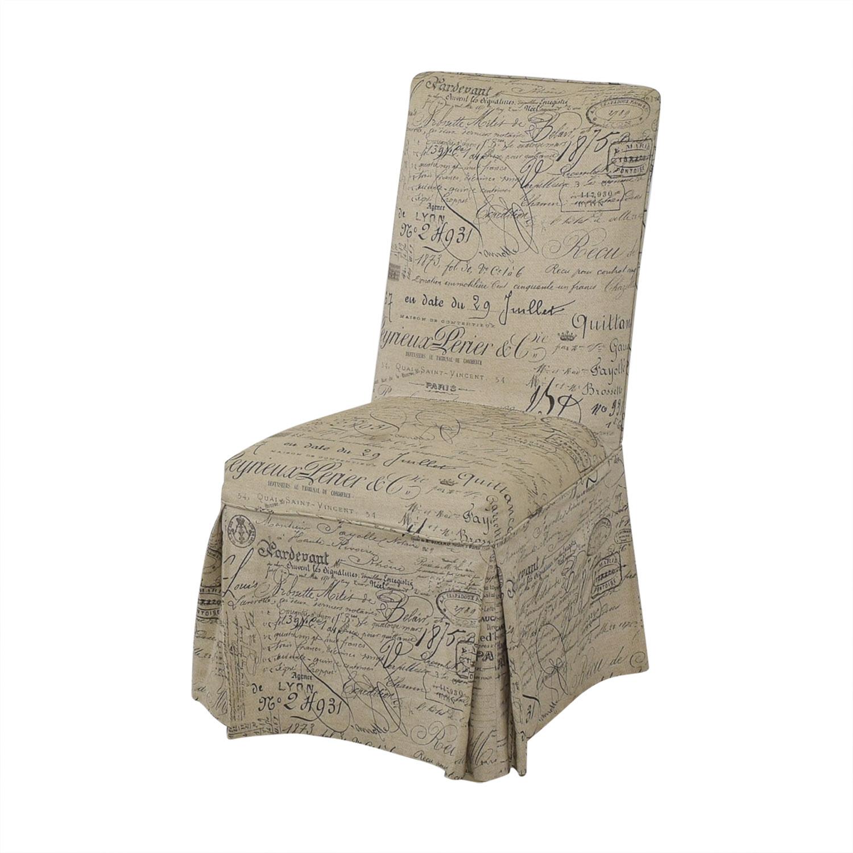 Ballard Designs Ballard Designs Parsons Upholstered Dining Chairs Chairs