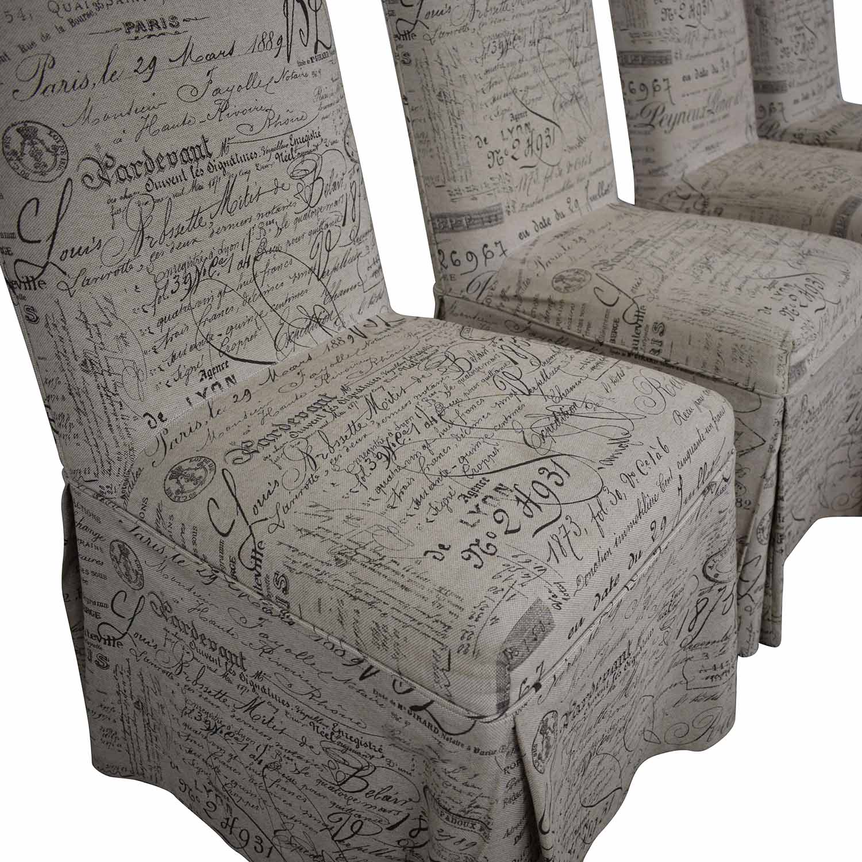 shop Ballard Designs Ballard Designs Parsons Upholstered Dining Chairs online