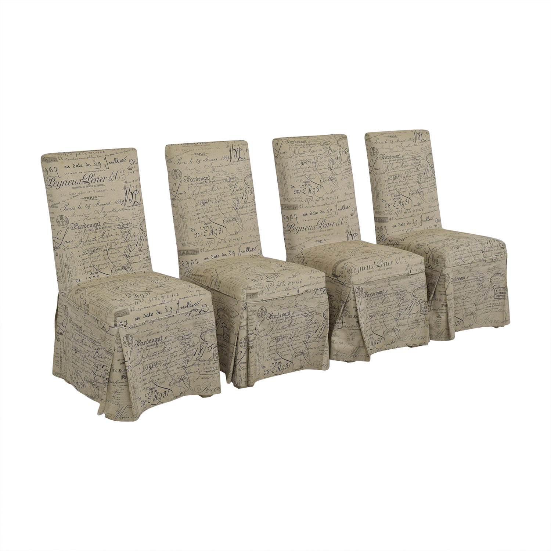 Ballard Designs Ballard Designs Parsons Upholstered Dining Chairs price
