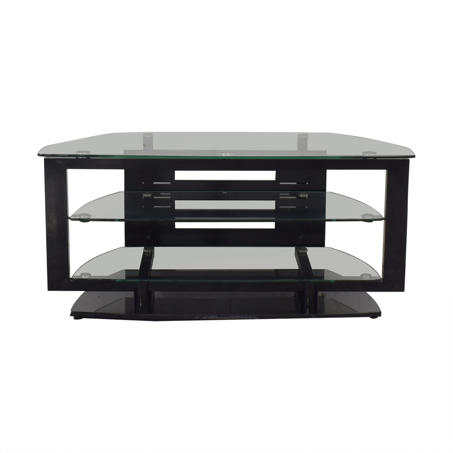 DCI Modern Glass Top TV Stand dimensions