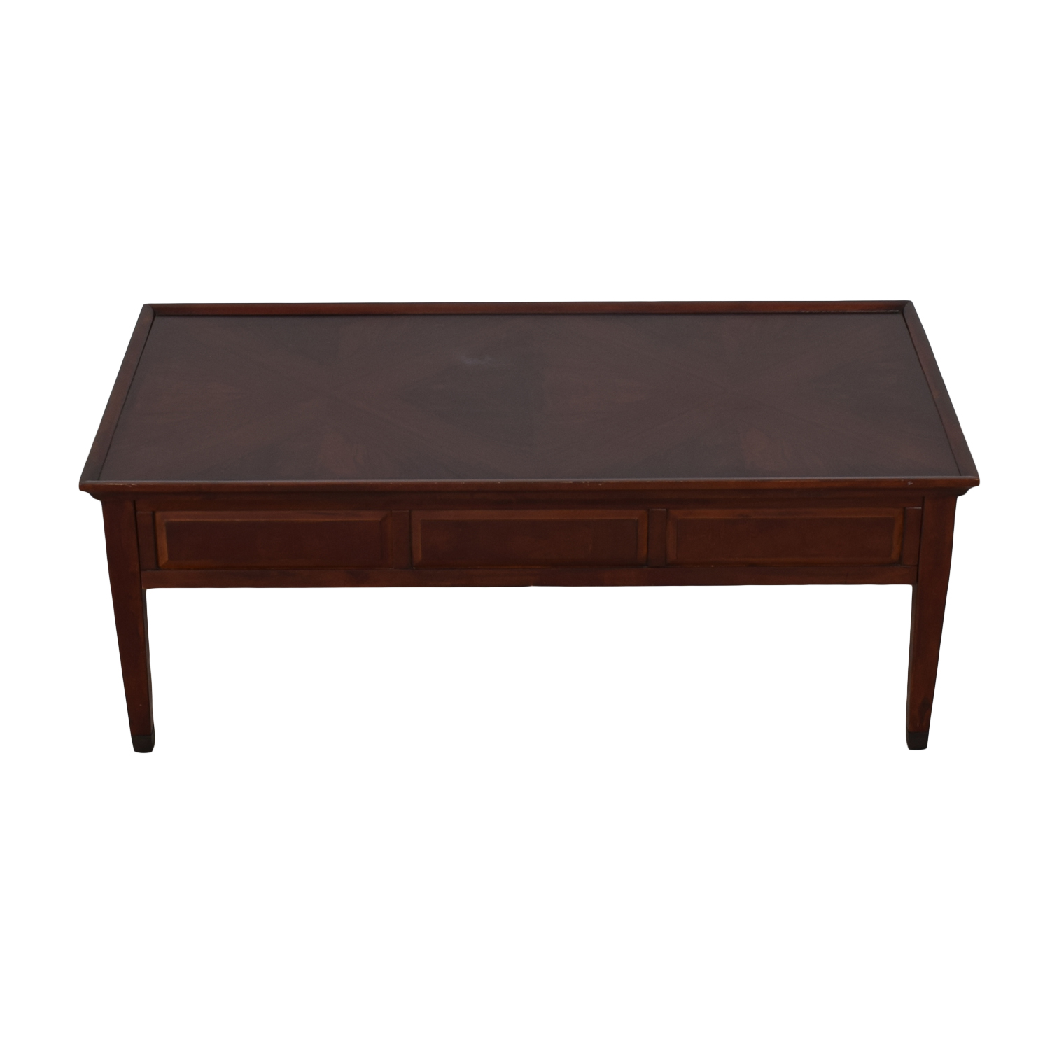Hammary Furniture Hammary Furniture Coffee Table with Storage dimensions