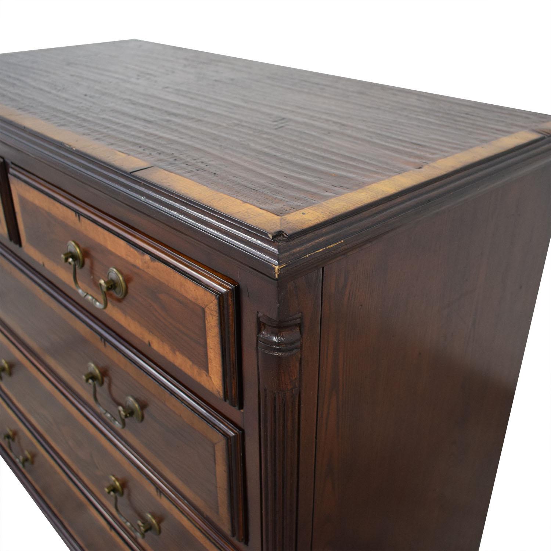 Five-Drawer Rustic Dresser on sale