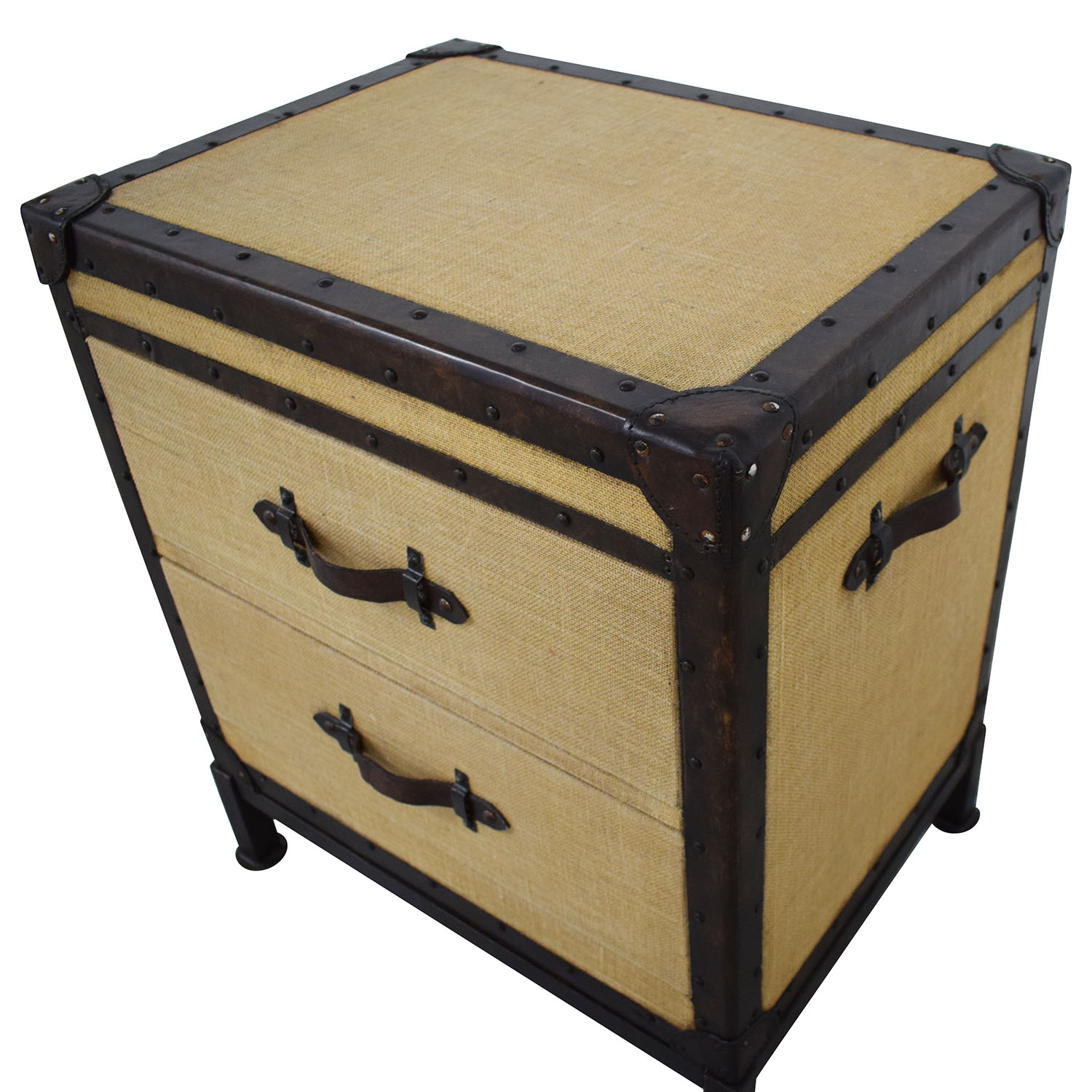 Pottery Barn Pottery Barn Redford Trunk Nightstand dimensions