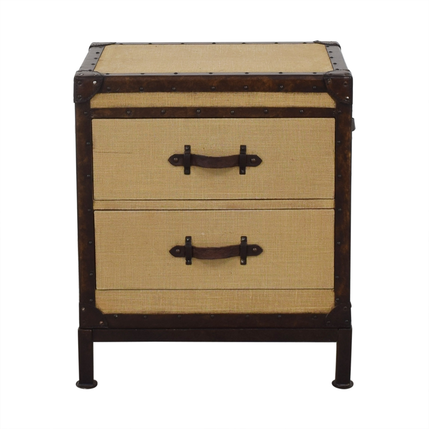 Pottery Barn Redford Trunk Nightstand Pottery Barn