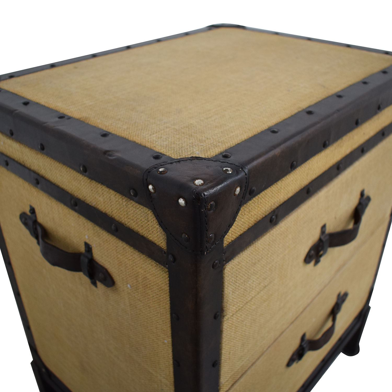 shop Pottery Barn Redford Trunk Nightstand Pottery Barn Tables