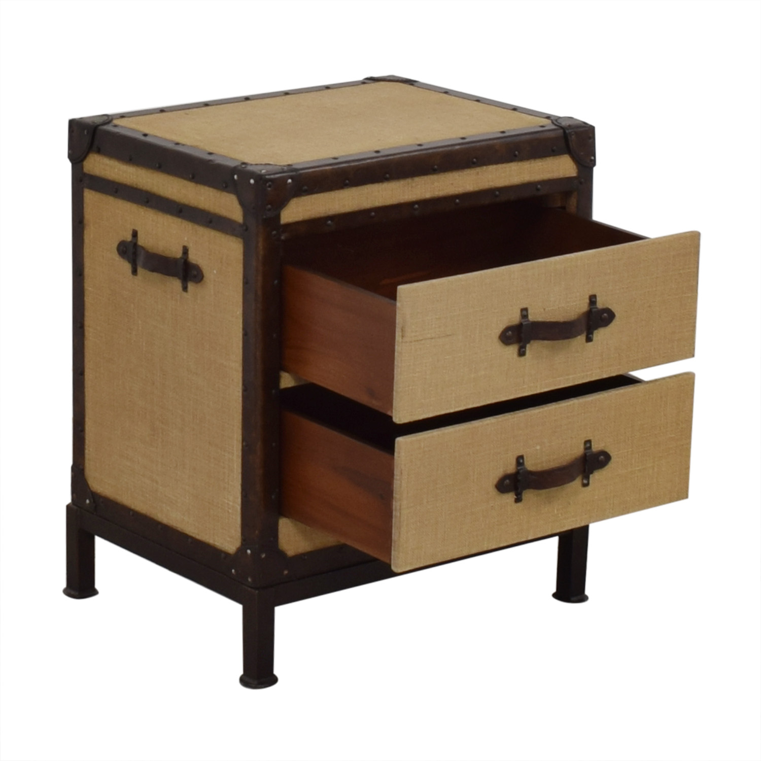 buy Pottery Barn Redford Trunk Nightstand Pottery Barn Tables