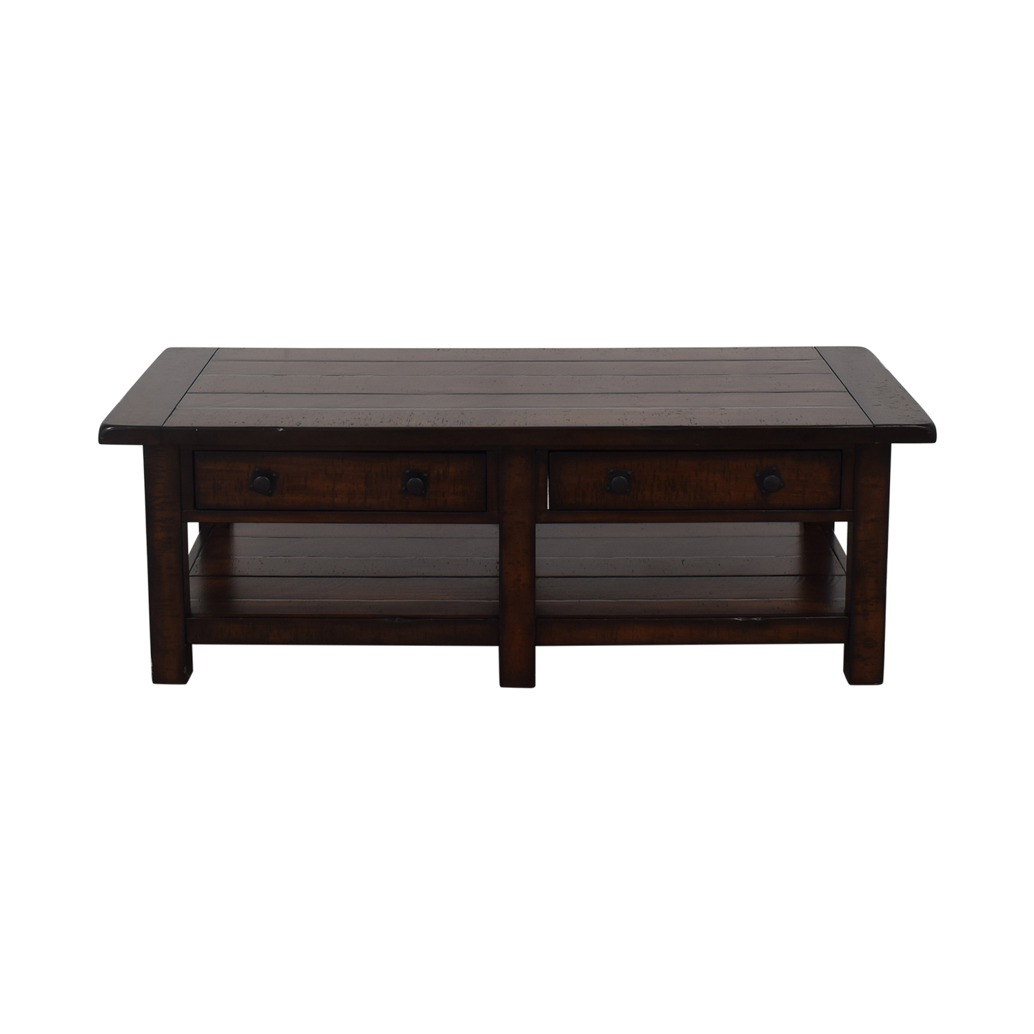 Pottery Barn Pottery Barn Benchwright Coffee Table dark brown