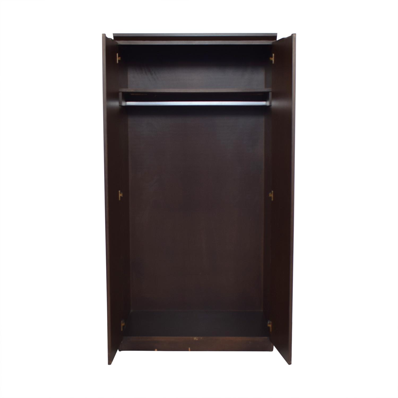 Gothic Cabinet Craft Gothic Cabinet Craft Flat Wardrobe brown