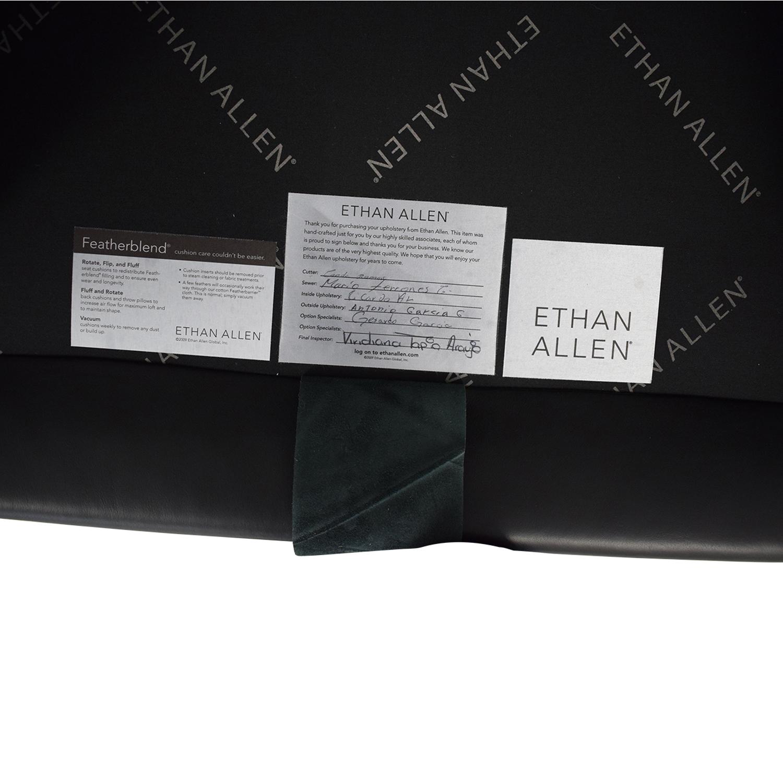 buy Ethan Allen Hyde Chair & Ottoman Ethan Allen Accent Chairs