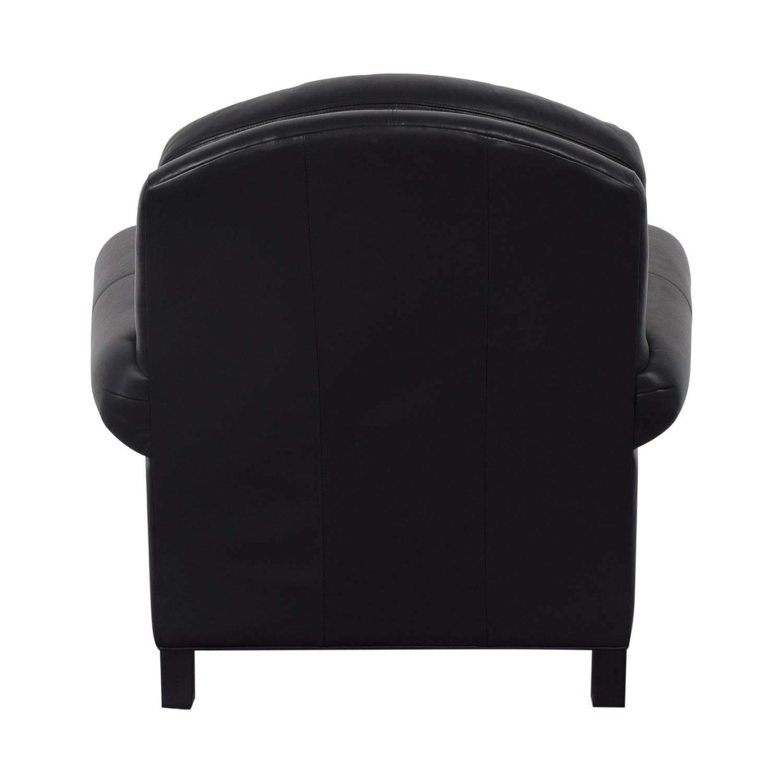 Ethan Allen Ethan Allen Hyde Chair & Ottoman nj