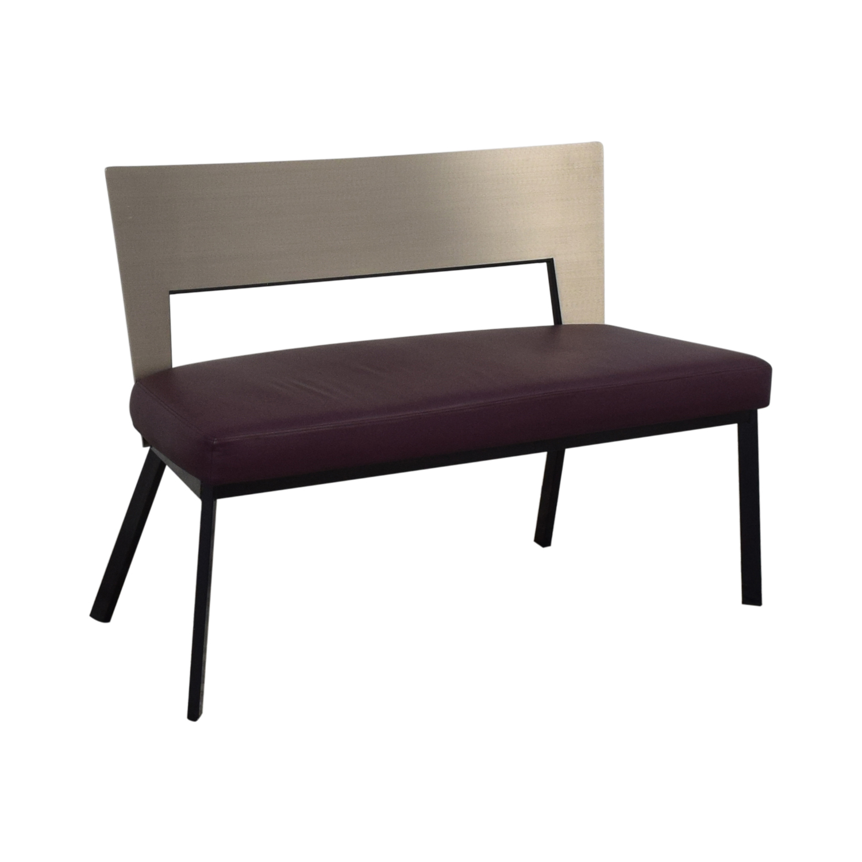 Elite Modern Elite Modern Regal Dining Bench dimensions