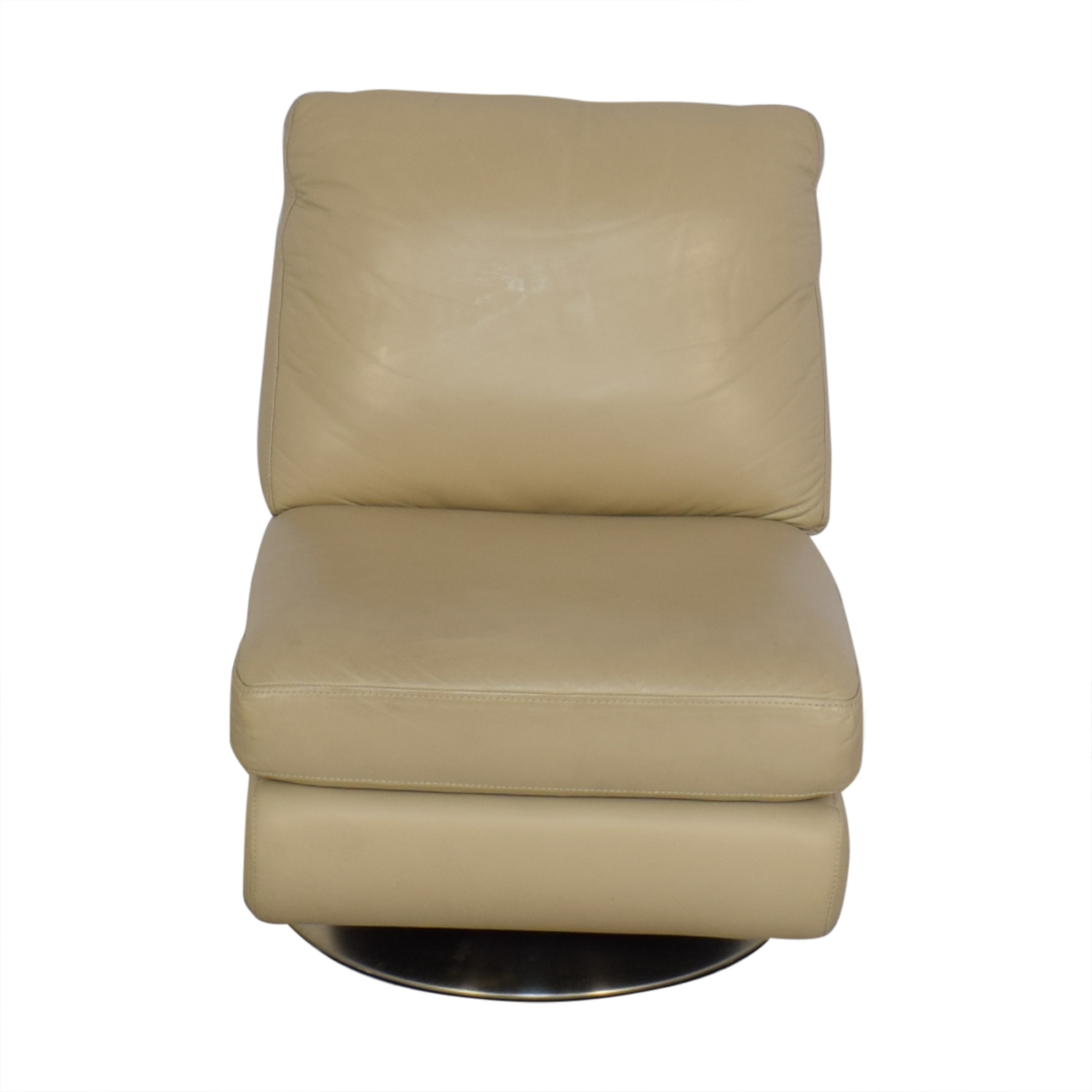 West Elm West Elm Armless Swivel Chair for sale