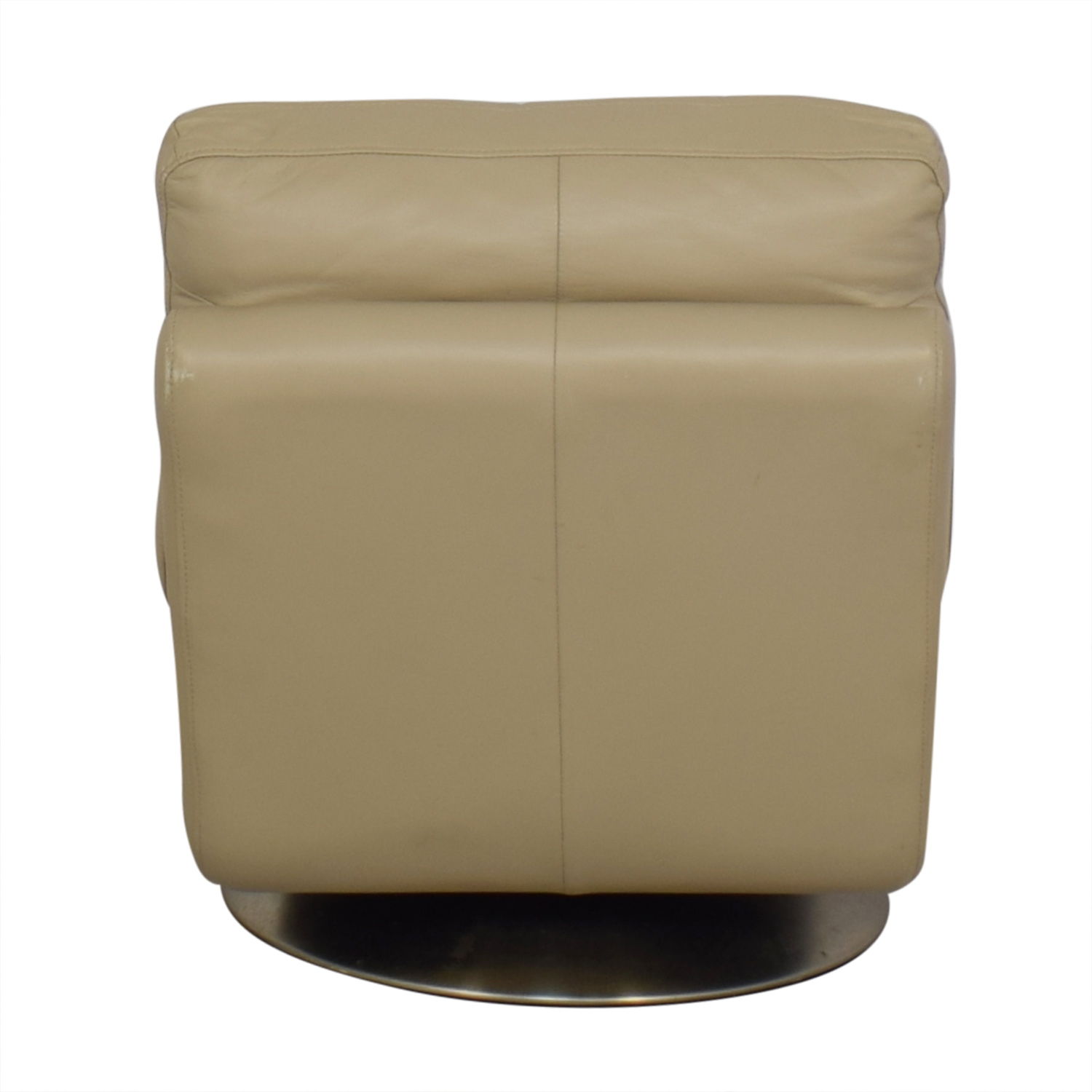 West Elm Armless Swivel Chair West Elm