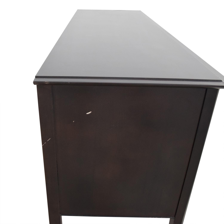 Crate & Barrel Crate & Barrel Wide Six Drawer Dresser Storage