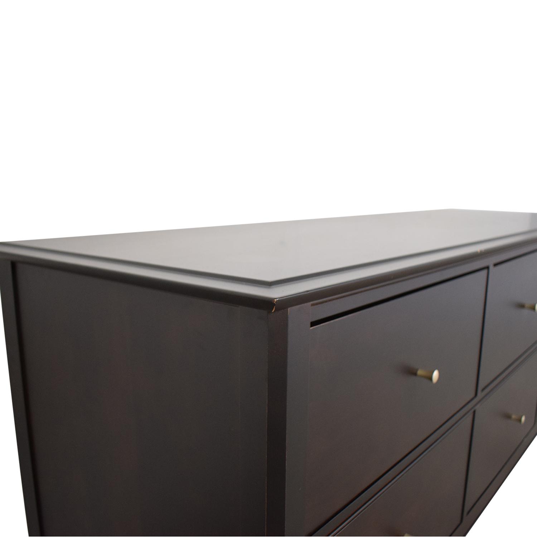Crate & Barrel Crate & Barrel Baronet Six-Drawer Chest Storage