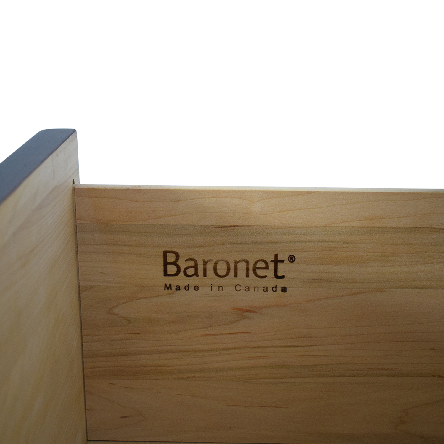 Crate & Barrel Crate & Barrel Baronet Six-Drawer Chest for sale