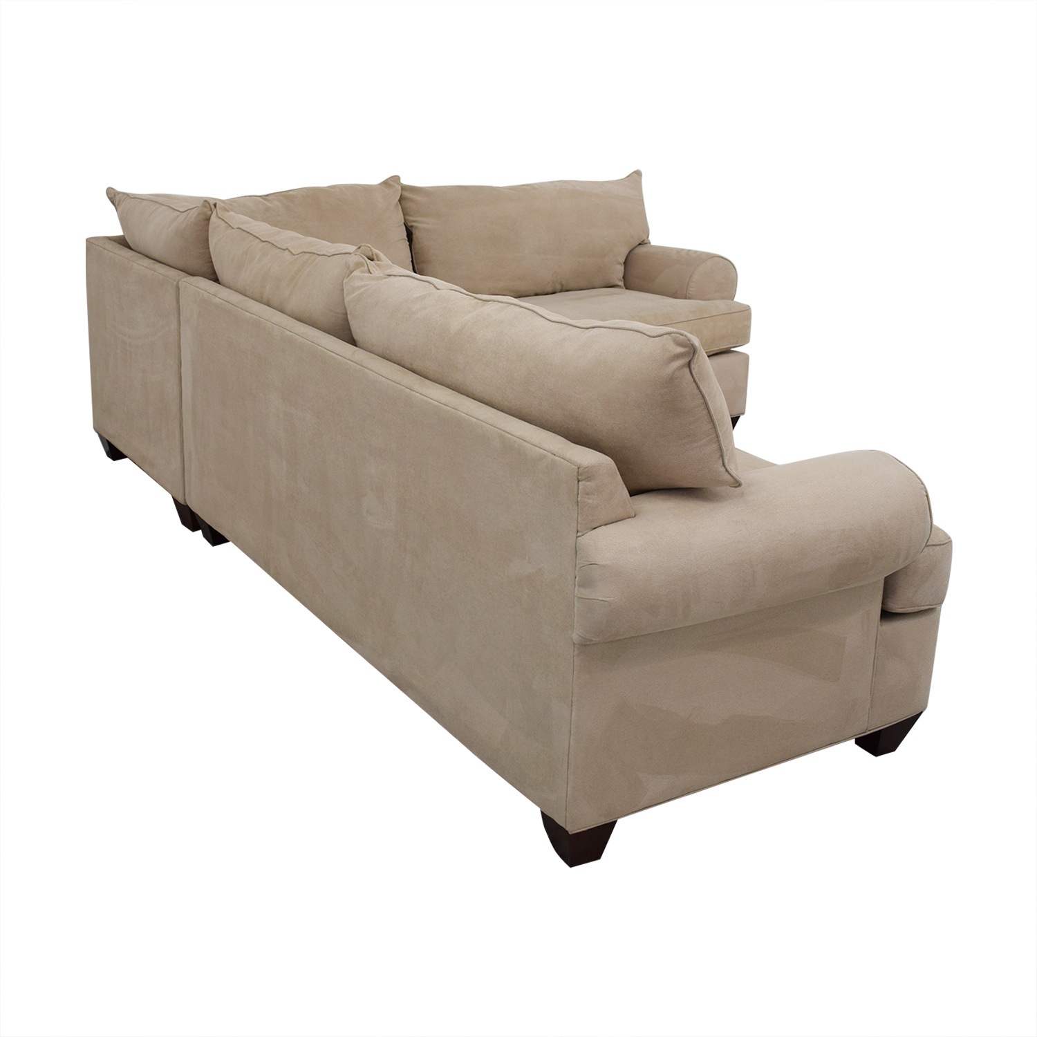 Raymour & Flanigan Two Piece Sectional / Sofas