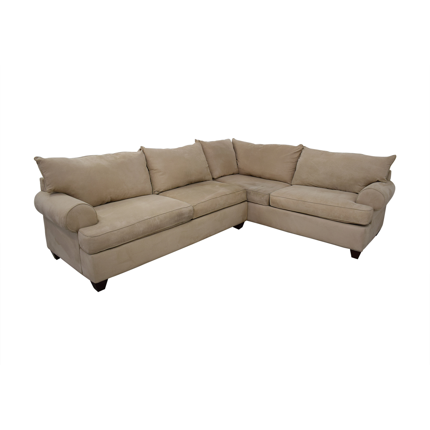 buy Raymour & Flanigan Two Piece Sectional Raymour & Flanigan Sectionals