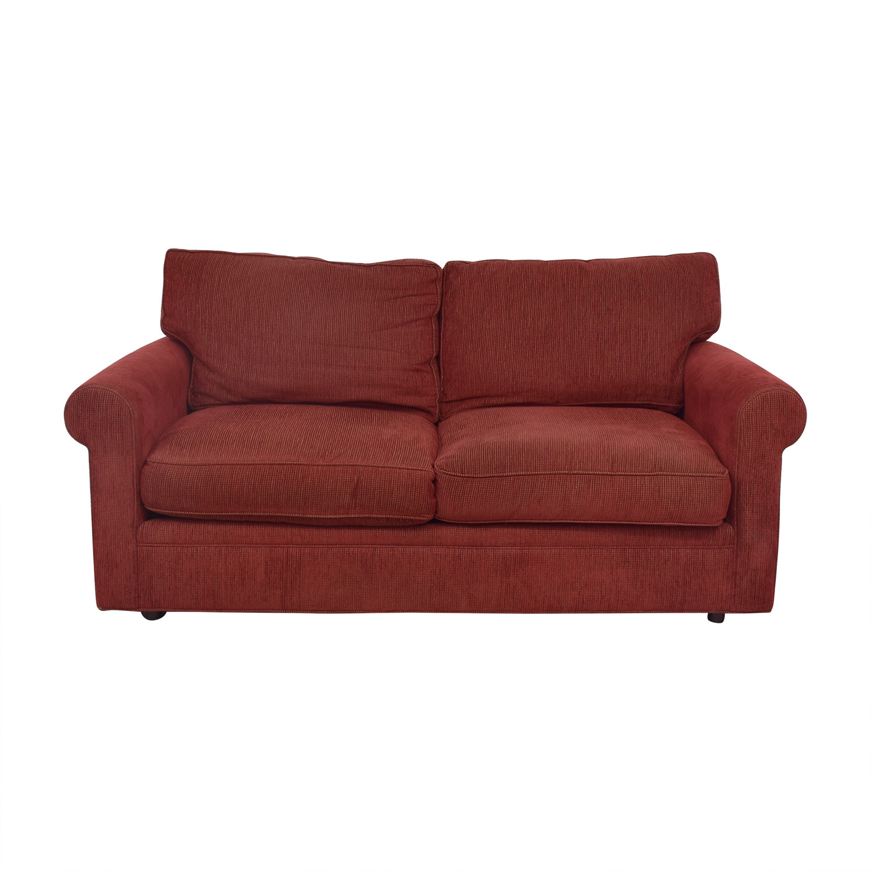 shop Crate & Barrel Crate & Barrel Two Seat Fabric Sofa online