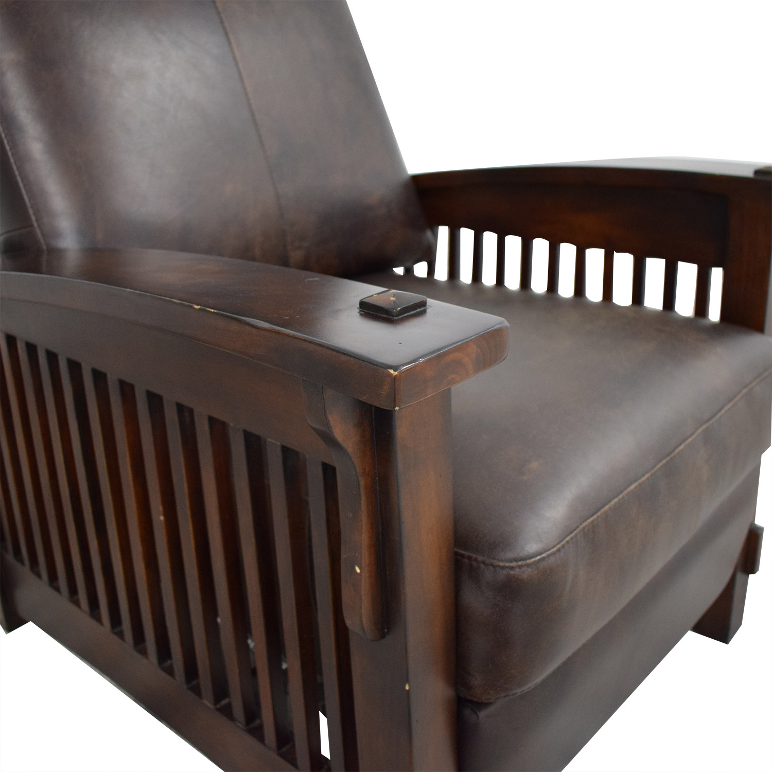 Recliner Chair with Wood Frame nj
