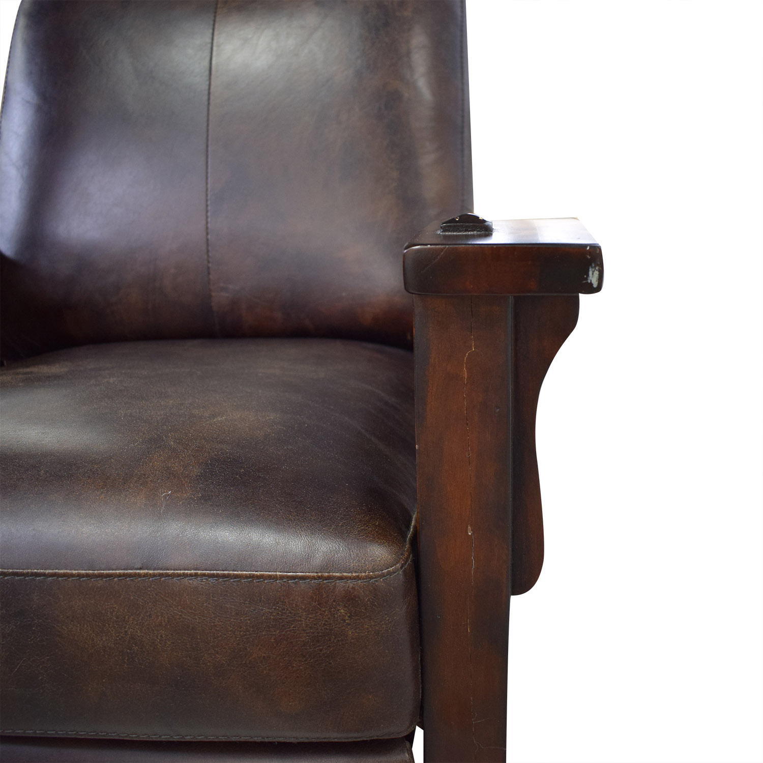 buy Recliner Chair with Wood Frame
