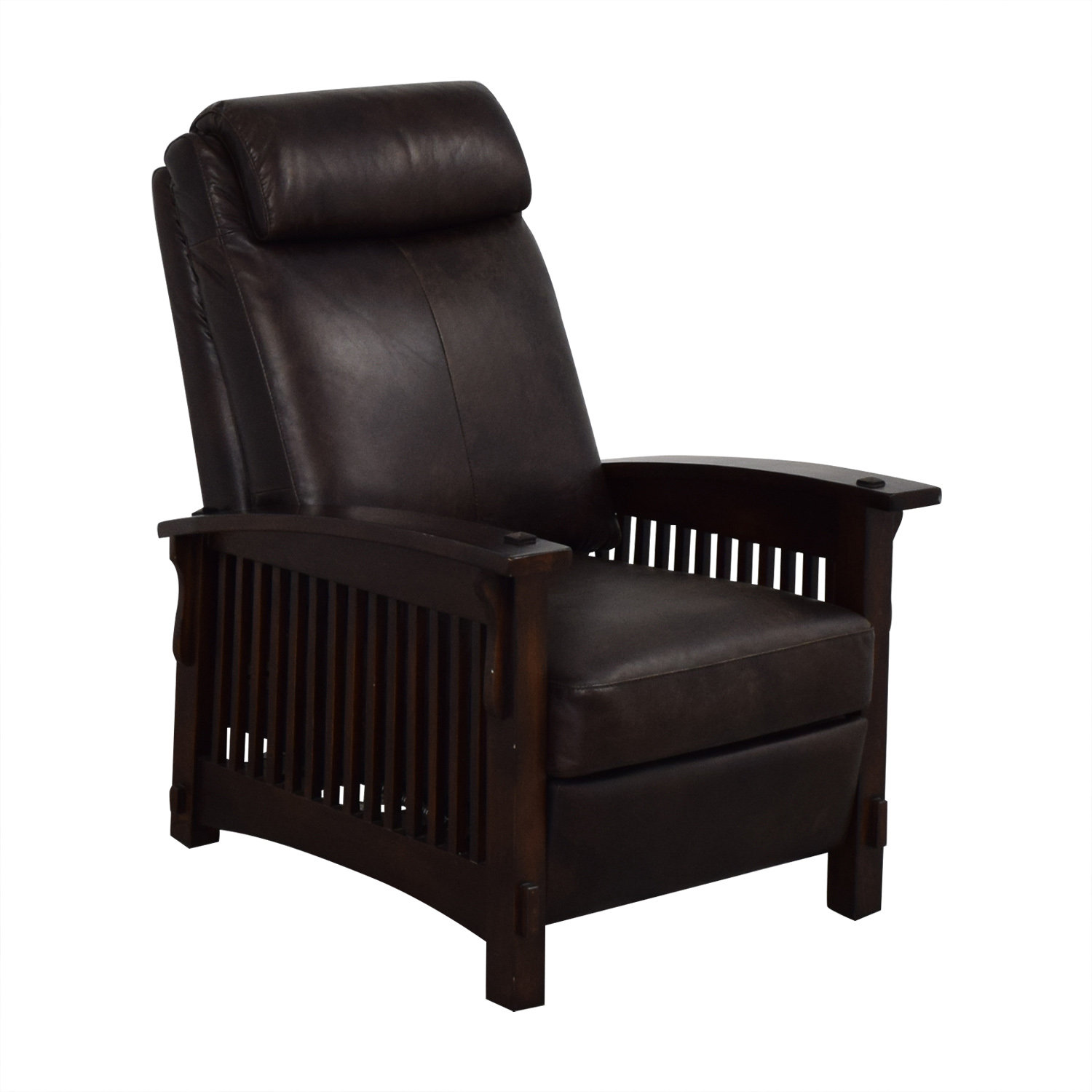 shop Recliner Chair with Wood Frame