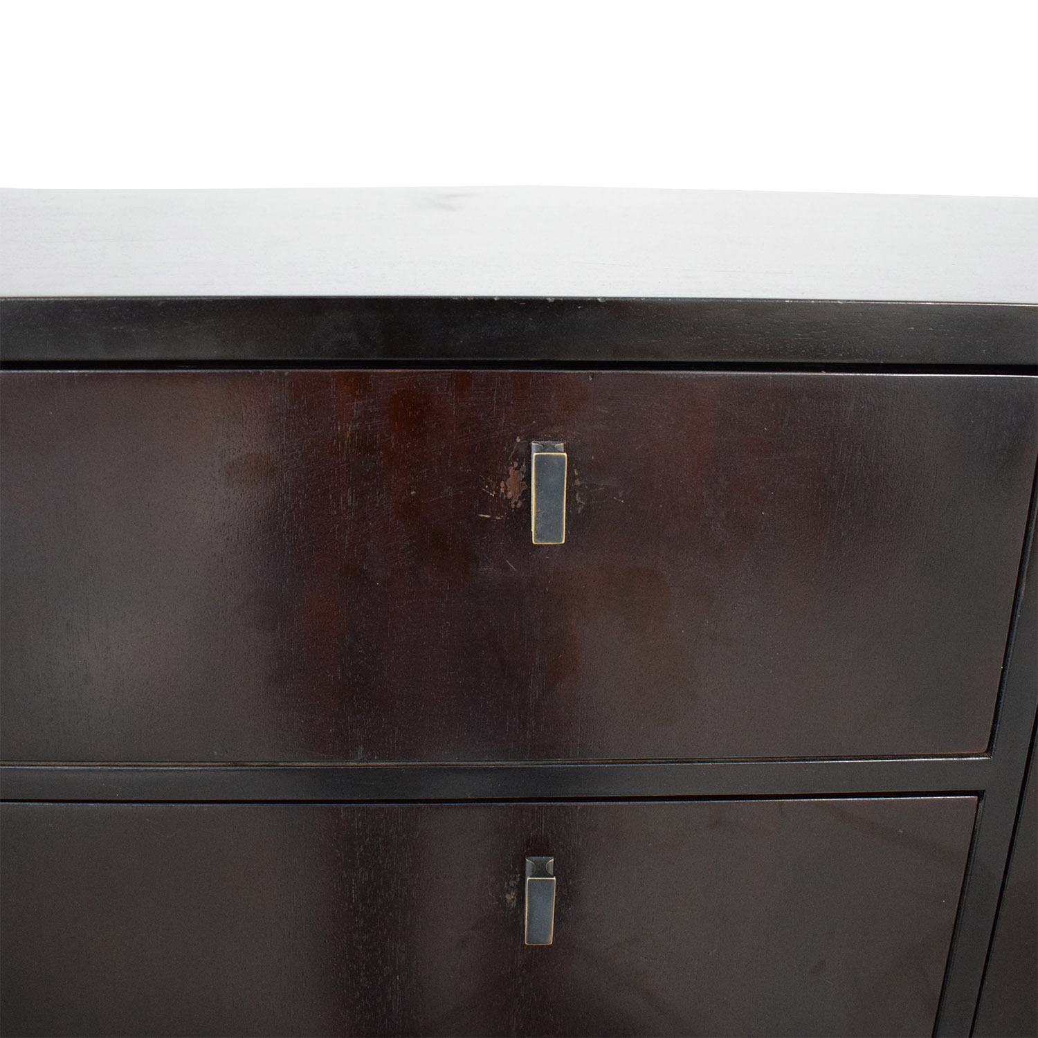 Crate & Barrel Crate & Barrel Five Drawer Dresser with Two Cabinets coupon
