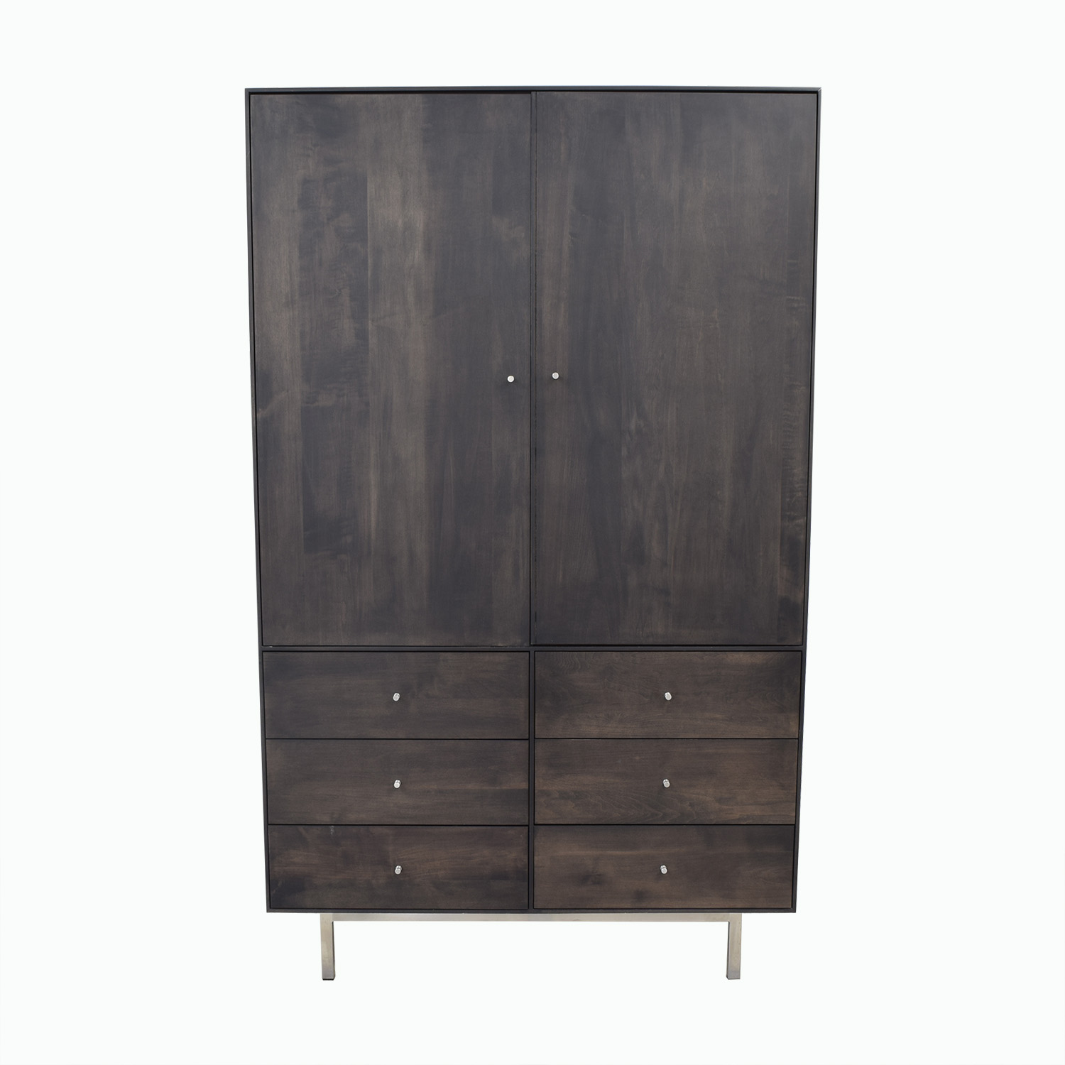 Room & Board Hudson Armoire with Steel Base Room & Board