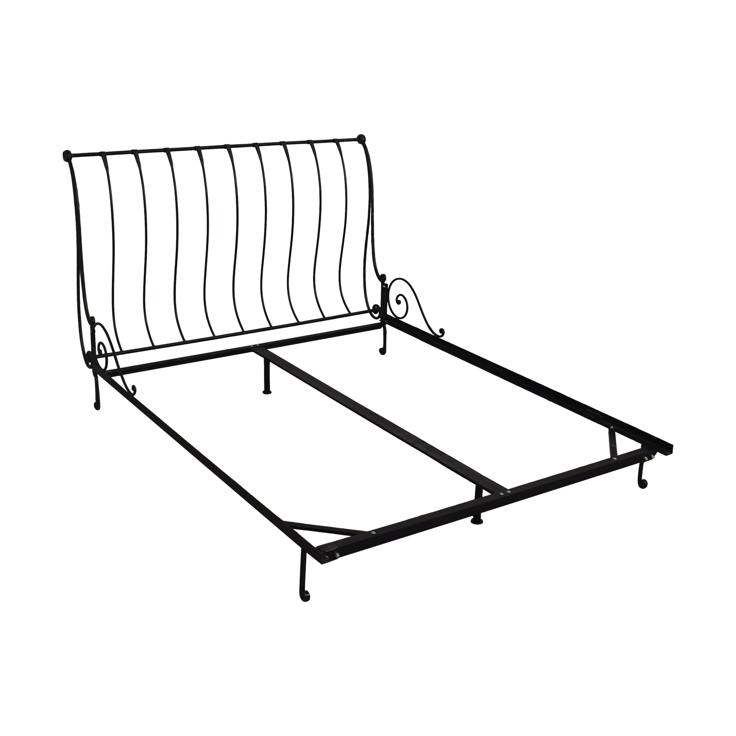 buy Charles P. Rogers Paris Sleigh Queen Bed Charles P. Rogers Bed Frames