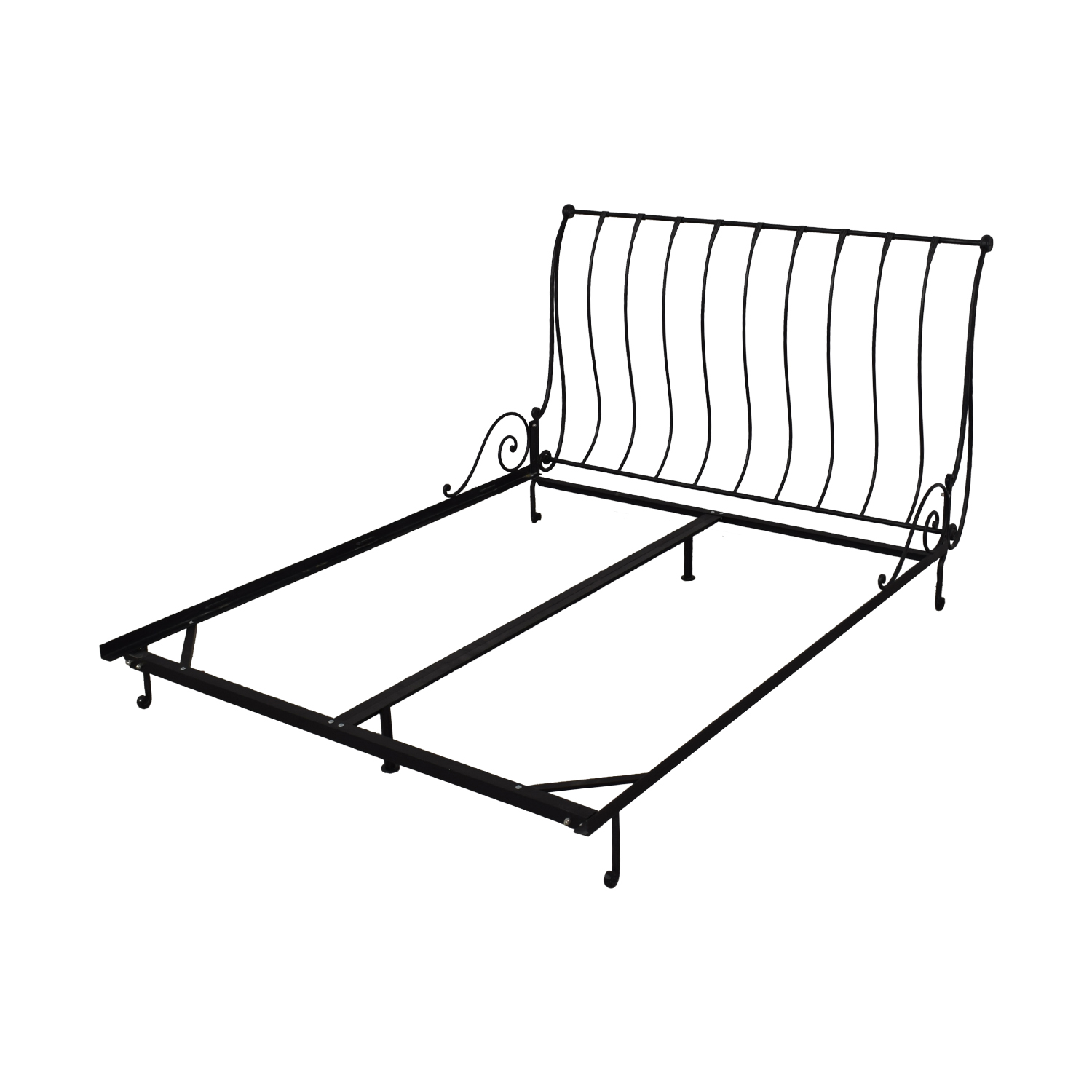 shop Charles P. Rogers Charles P. Rogers Paris Sleigh Queen Bed online