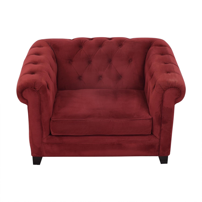 Macy's Macy's Martha Stewart Saybridge Armchair Sofas