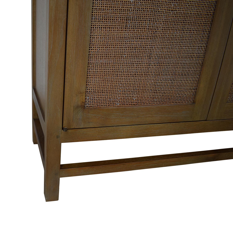 buy Crate & Barrel Blake 2-Door Cabinet Crate & Barrel