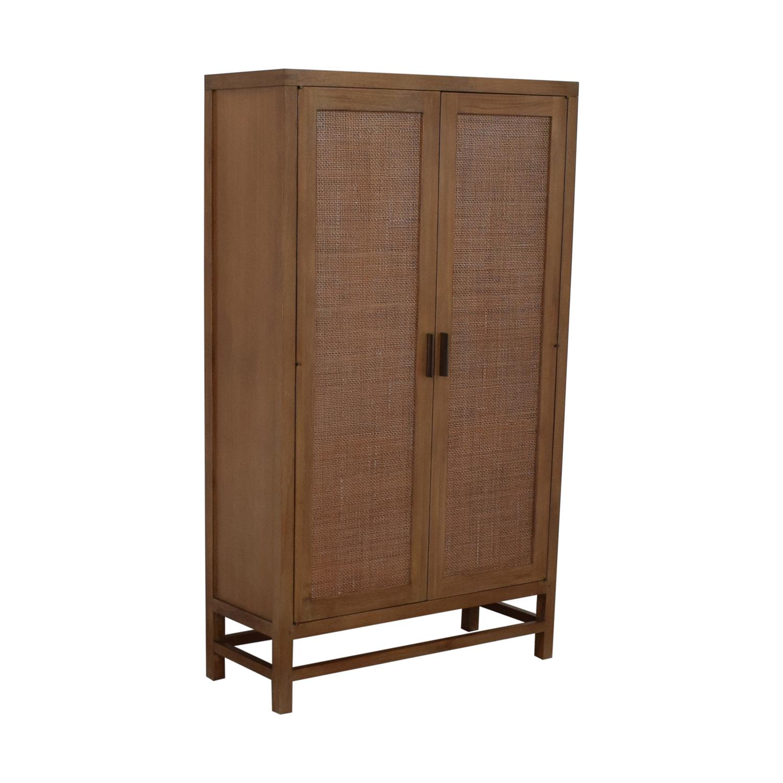 Crate & Barrel Crate & Barrel Blake 2-Door Cabinet second hand