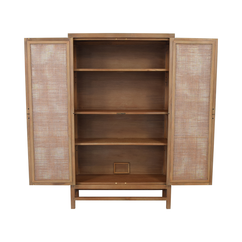 Crate & Barrel Blake 2-Door Cabinet Crate & Barrel