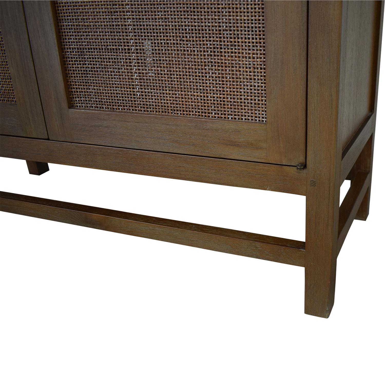 Crate & Barrel Blake 2-Door Cabinet sale