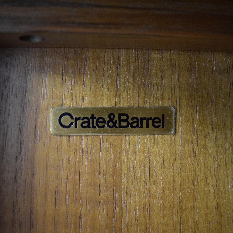 Crate & Barrel Crate & Barrel Blake 2-Door Cabinet nj