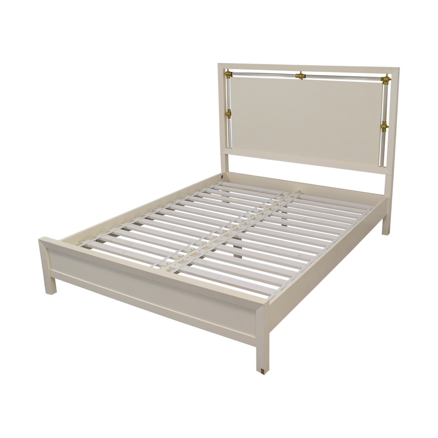 Anthropologie Anthropologie Merriton Queen Bed dimensions